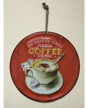 Creative Motion Round Metal Painted Art with Premium Coffee Roasters