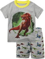 "Babyroom ""Dinosaur"" shirt Boys clothes cotton short toddler kids pajamas size 3"