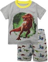 "Babyroom ""Dinosaur"" shirt Boys clothes cotton short toddler kids pajamas"