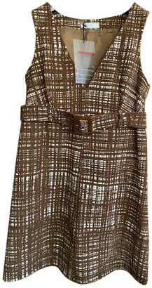 Prada Brown Polyester Dresses