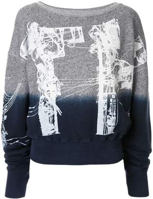 Faith Connexion telegraph sweatshirt