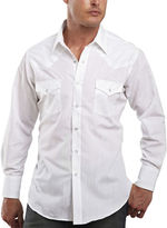 JCPenney Ely Cattleman Metallic-Accent Snap Shirt
