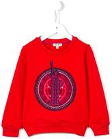 Kenzo 'Statue Of Liberty' sweatshirt - kids - Cotton/Spandex/Elastane - 2 yrs