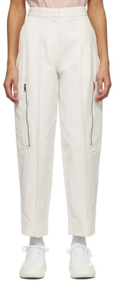 Stella McCartney White Karla Trousers