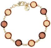 Gloria Vanderbilt Womens 7 1/2 Inch Brass Chain Bracelet