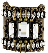 Dannijo Crystal Accented Cuff Bracelet