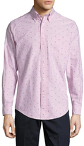 Brooks Brothers Embroidered Button-Down Collar Sportshirt