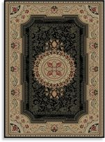 Bed Bath & Beyond Concord Global Chateau Rug in Black