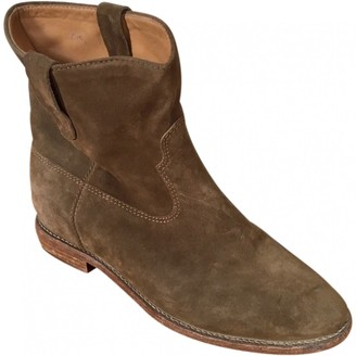 Etoile Isabel Marant \N Brown Suede Ankle boots