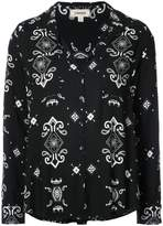 L'Agence patterned blouse