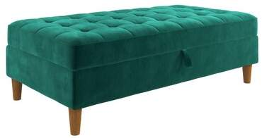 Remarkable Velvet Tufted Ottoman Shopstyle Squirreltailoven Fun Painted Chair Ideas Images Squirreltailovenorg