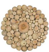 Jeffan Organic Wood Disk Décor