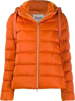 Herno Zip-Front Puffer Jacket