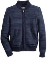 American Rag Men's Full Zip Sweater Bomber, Created for Macy's