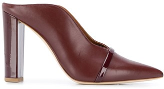 Malone Souliers pointed high heel mules