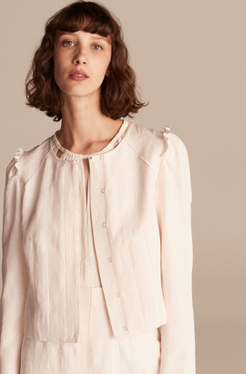 Rebecca Taylor Deco Jacquard Jacket
