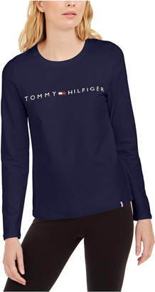 Tommy Hilfiger Embroidered-Logo Top