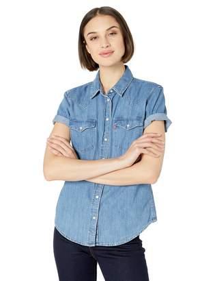 Levi's Women's Ultimate Short Sleeve Western Shirt