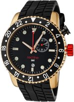 Redline Red Line Men's Classic GMT Dial Silicone Watch RL-10002