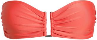 Lenny Niemeyer Ruched Bandeau Bikini Top