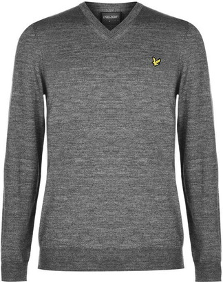 Lyle & Scott V Neck Jumper