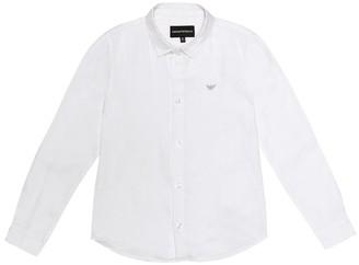 Emporio Armani Kids Linen shirt