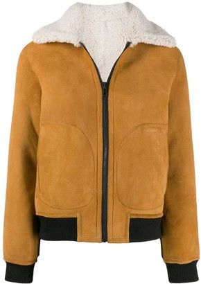 Zadig & Voltaire Lotta shearling coat
