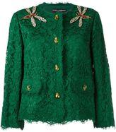 Dolce & Gabbana embellished lace jacket