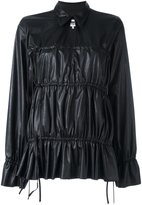 MM6 MAISON MARGIELA drawstring detail blouse