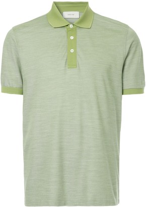 Cerruti two-tone polo shirt