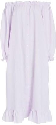 Sleeper Loungewear Midi Shirt Dress