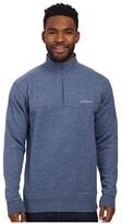 Columbia Hart Mountaintm II Half Zip (Carbon Heather) Men's Long Sleeve Pullover