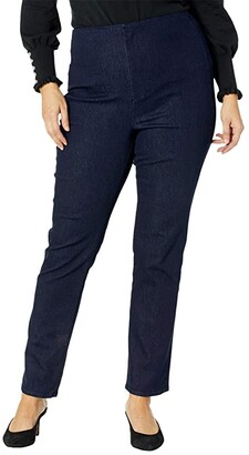 NYDJ, Plus Size Size Plus Size Marilyn Straight Forever Slimming Jeans in Rinse (Rinse) Women's Jeans
