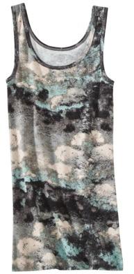 Mossimo Women's Microrib Fashion Tank - Prints