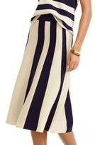 J.Crew Women's Wool Stripe Skirt