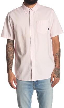 Vans Short Sleeve Houser Cool Pink Regular Fit Shirt