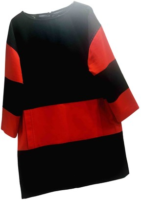Courreges Red Wool Dress for Women Vintage