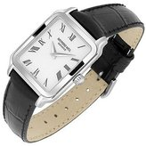 Tradition - Ladies' Classic Black Leather Dress Watch