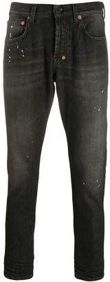 PRPS Paint Splatter Skinny Jeans