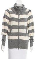 Alice + Olivia Striped Cashmere Sweater