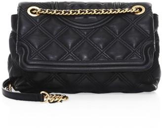 Tory Burch Fleming Leather Shoulder Bag