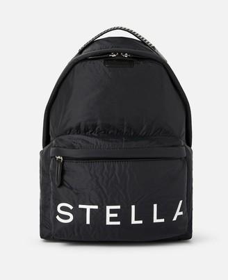 Stella McCartney Stella Logo Backpack, Women's