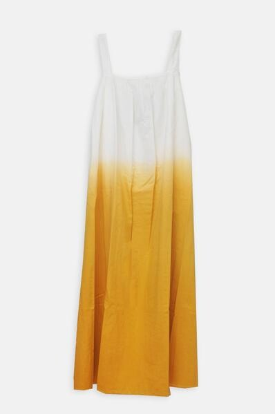 Thumbnail for your product : Hartford Ecru Dip Dyed Gold Rosa Dress - 1