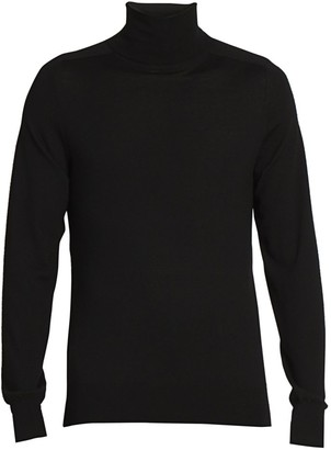 Givenchy Floating Bonded Tape Logo Turtleneck