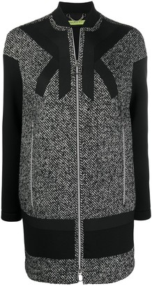Versace Jeans Couture Long Sleeve Wool Coat