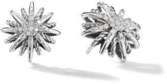 David Yurman Starburst Earrings with Diamonds/16mm