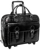 McKlein McKleinUSA San Martino 14 Leather Detachable -Wheeled Laptop Briefcase