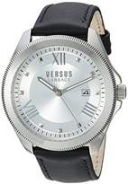 Versus By Versace Women's SBE010015 Analog Display Quartz Black Watch