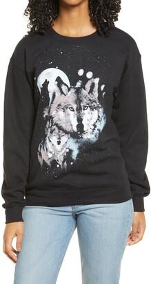BP Oversize Graphic Sweatshirt