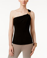 MICHAEL Michael Kors One-Shoulder Top